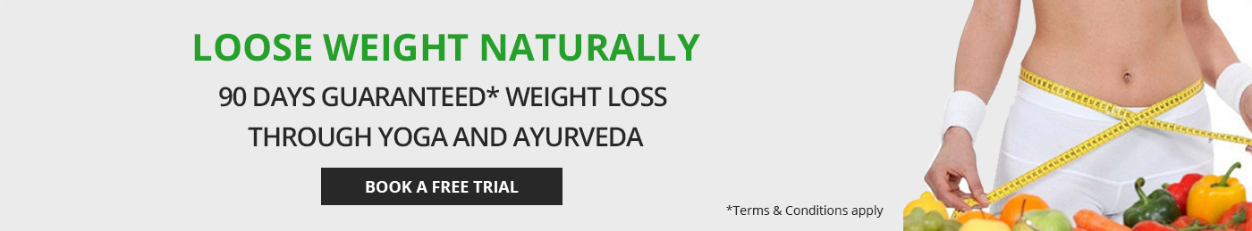 90 days weight loss programme through Yoga and Ayurveda